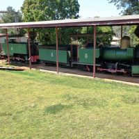 Locomotives at Childers Historical Complex
