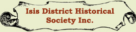 Isis District Historical Society Inc.